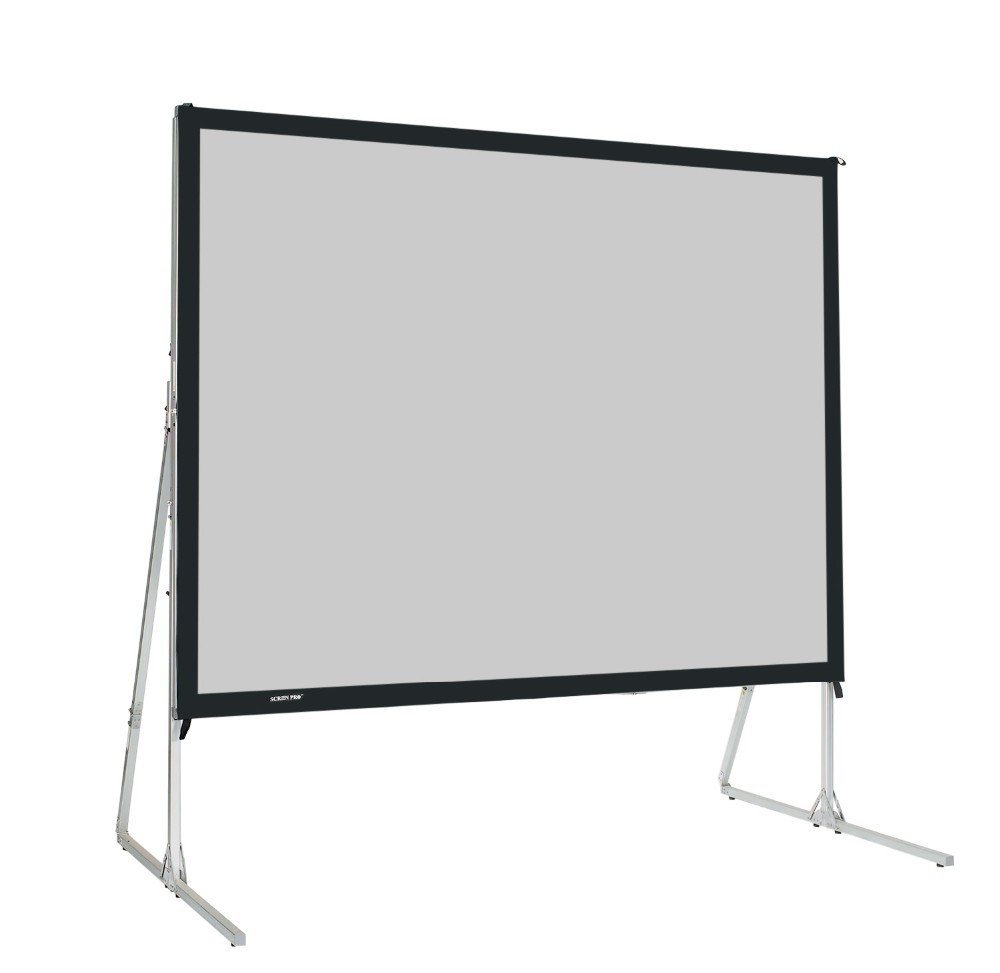 Draper 7'6 x 10ft front & rear projection screens with dress kit