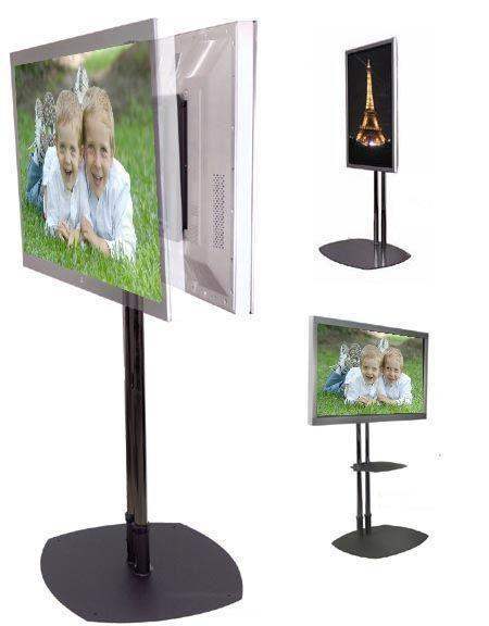 72″ DUAL-POLE FLOOR STANDS
